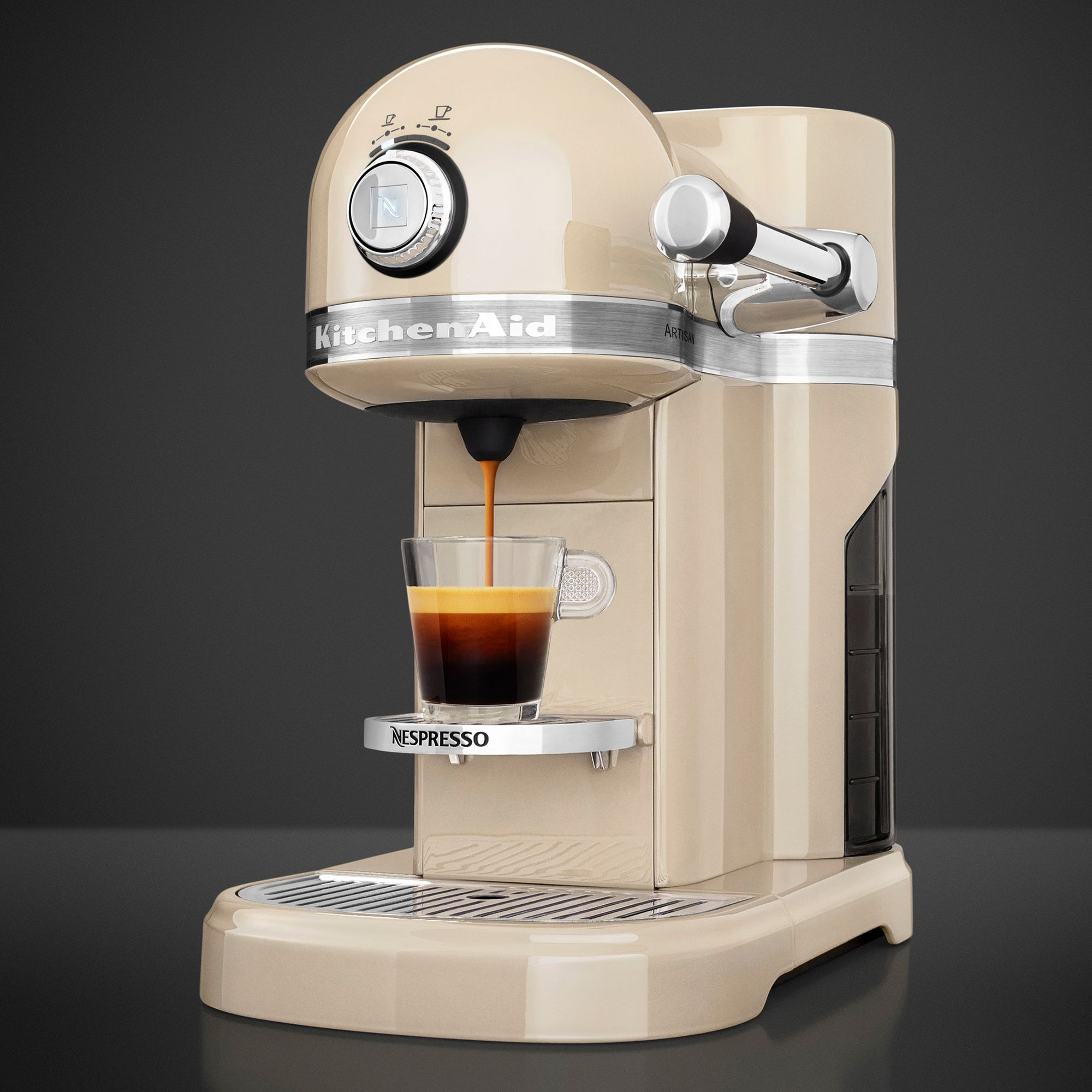 Italian Coffee Maker John Lewis : Buy Nespresso Artisan Coffee Machine by KitchenAid John Lewis